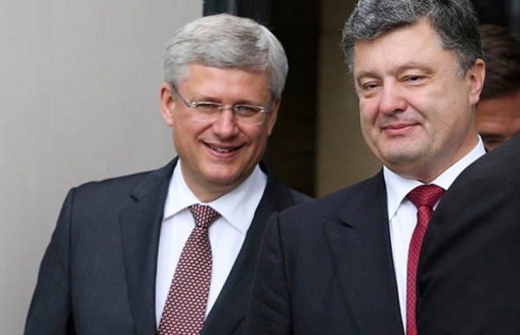 В следующем году Украина и Канада создадут зону свободной торговли