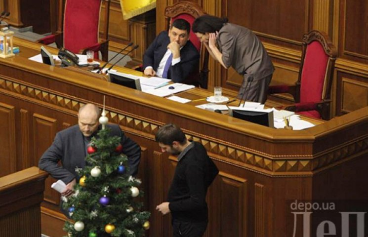 Рада прийматиме держбюджет 30 грудня