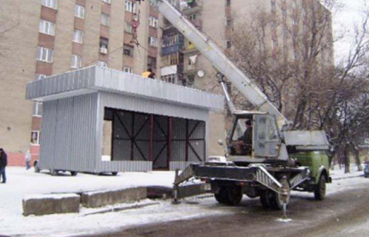 З нового року всі незаконні МАФи в столиці будуть демонтовані - КМДА