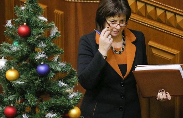 Яресько запевняє, що без бюджету до Нового року грошей Україна не отримає