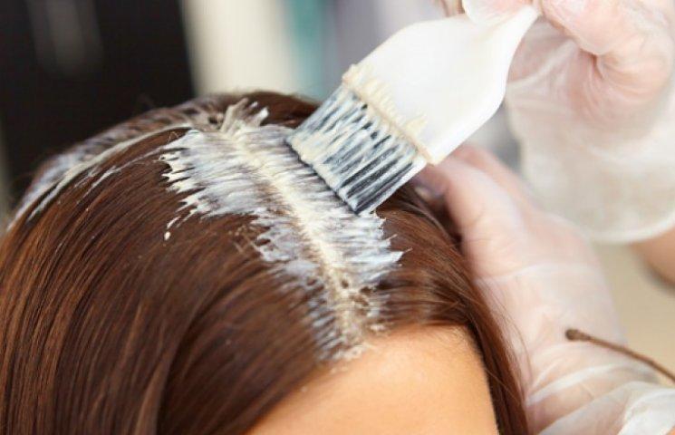 Окрашивание волос в домашних условиях до и после
