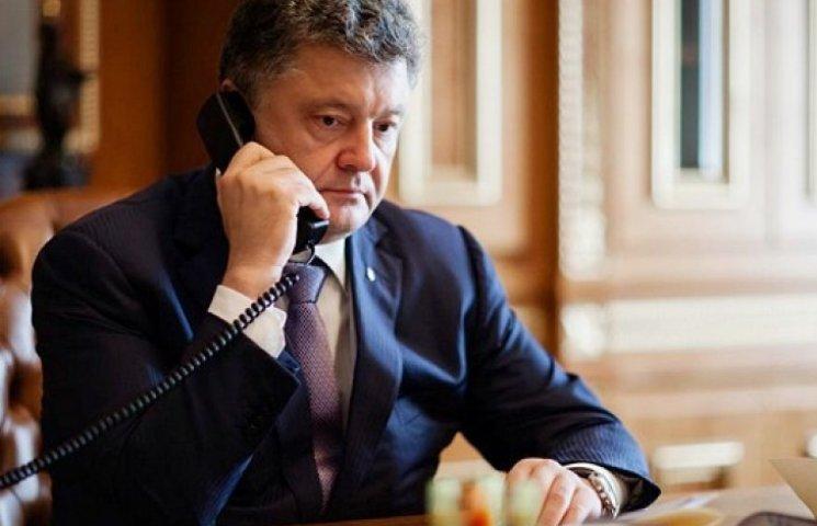 Порошенко пообщался с Меркель о войне на Донбассе и кредите МВФ