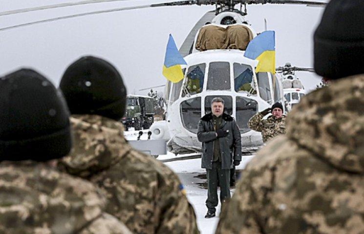 Порошенко назвал девять побед Украины в 2014 году