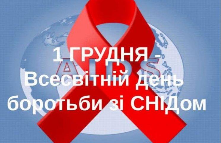 Перше грудня - День боротьби зі СНІДом
