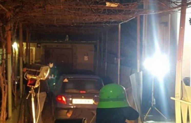 Наслідки нічного вибуху в Ужгороді