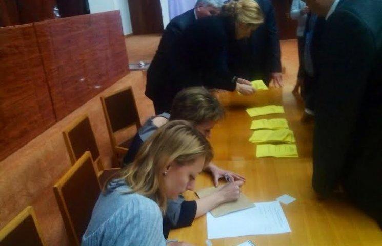 Полтавська облрада втретє провалила голосування за голову