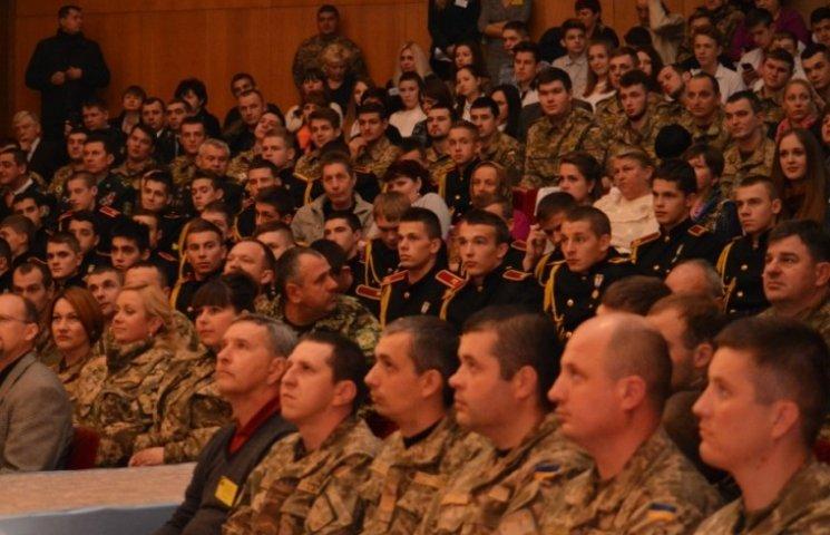 Закарпатських військовиків і волонтерів привітали зі святом