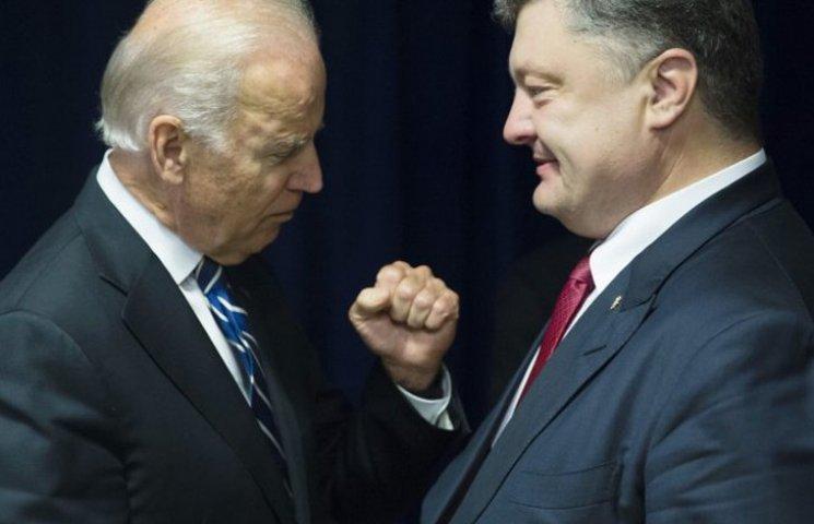 Что предложит Порошенко Байдену за голову Яценюка