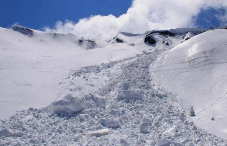 На Закарпатті - небезпека сходження лавин