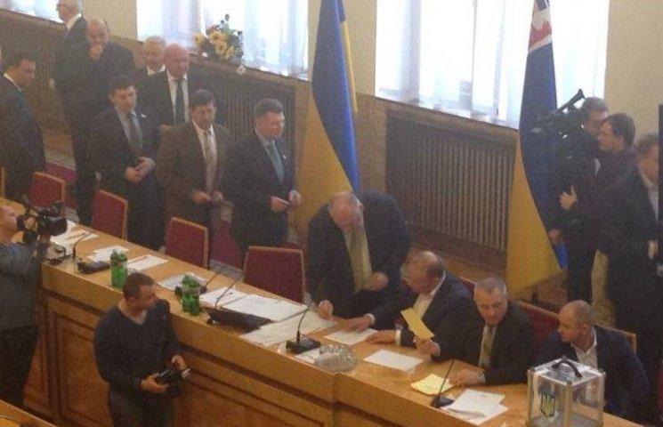 Угорець буде першим заступником голови Закарпатської облради