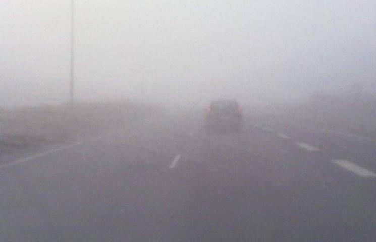 На Закарпатті очікуються туман та ожеледиця