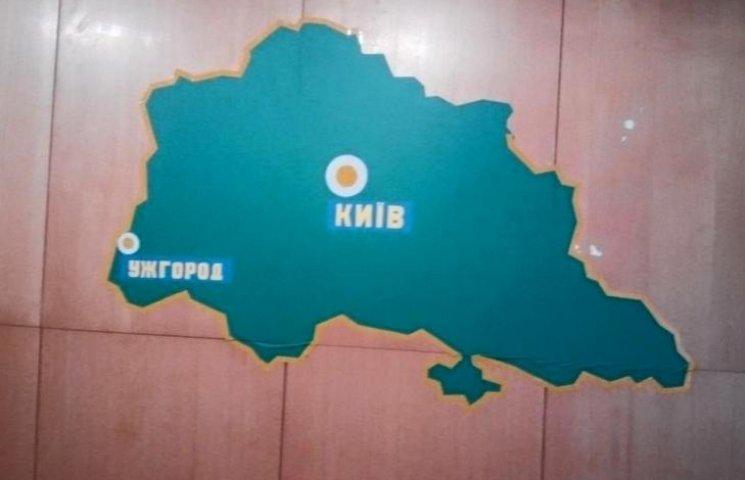 Закарпатські ДАІшники мають своє оригінальне бачення кордонів України
