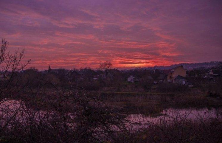 Андріївський захід сонця вразив ужгородців