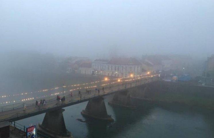Ужгородці пропонують зробити вихідним туманний понеділок