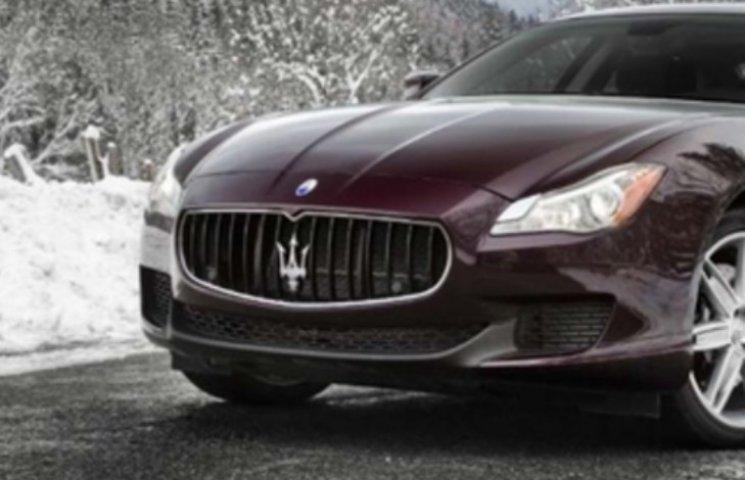 На Закарпатті екс-голова РДА їздить на Maserati за 200 тисяч доларів