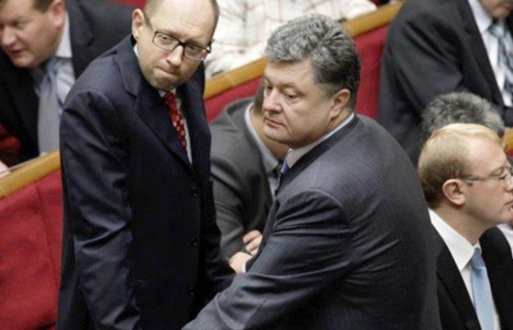 Чем Яценюк напугал Порошенко