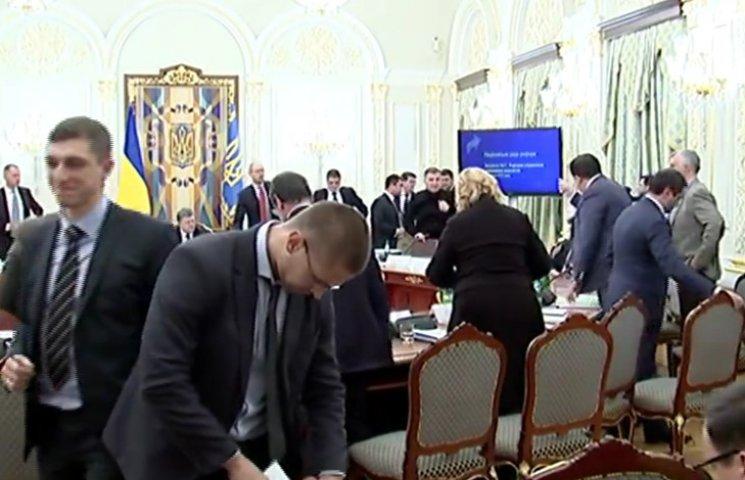Как Аваков ссорился с Саакашвили на Нацсовете (ВИДЕО 18+)