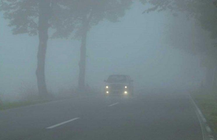 На Закарпатті - сильний туман і ожеледиця