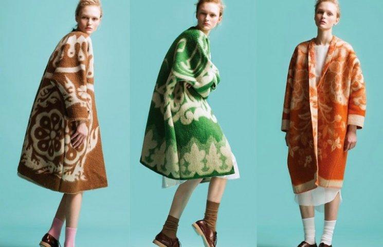 Нова мода - пальто з радянських ковдр
