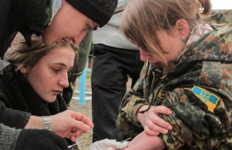 В Ужгороді вчитимуть основам тактичної медицини