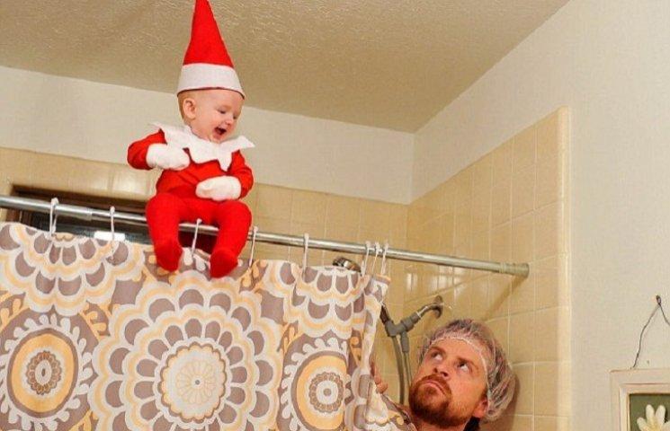 4-місячний малюк-ельф підірвав мережу своєю різдвяною фотосесією