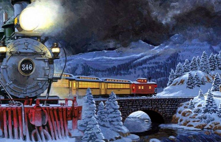 У Києві запускають новорічні потяги Діда Мороза
