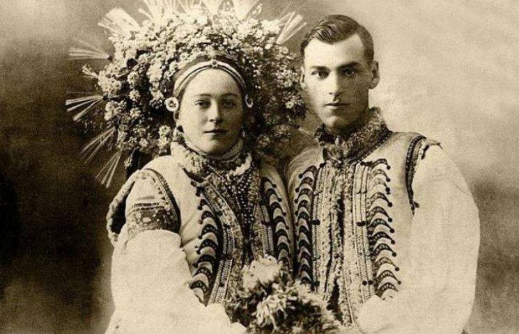 Шикарні світлини: Українські молодята минулого століття