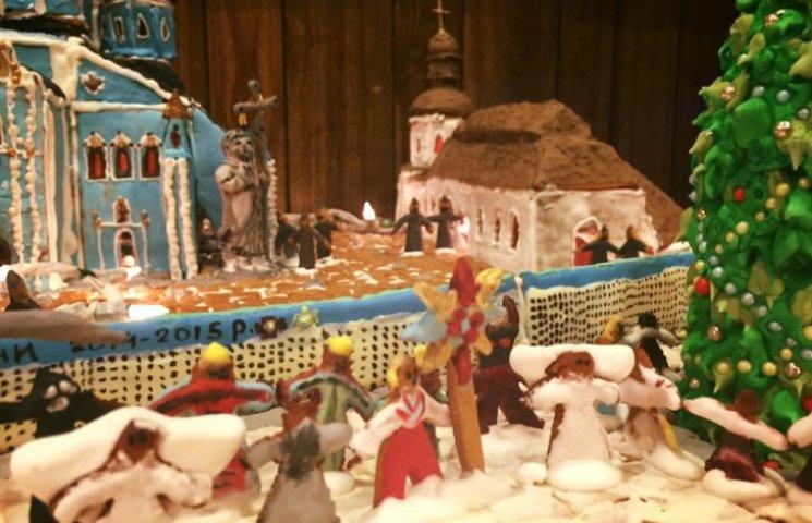 Американка спекла торт у вигляді Михайлівського собору