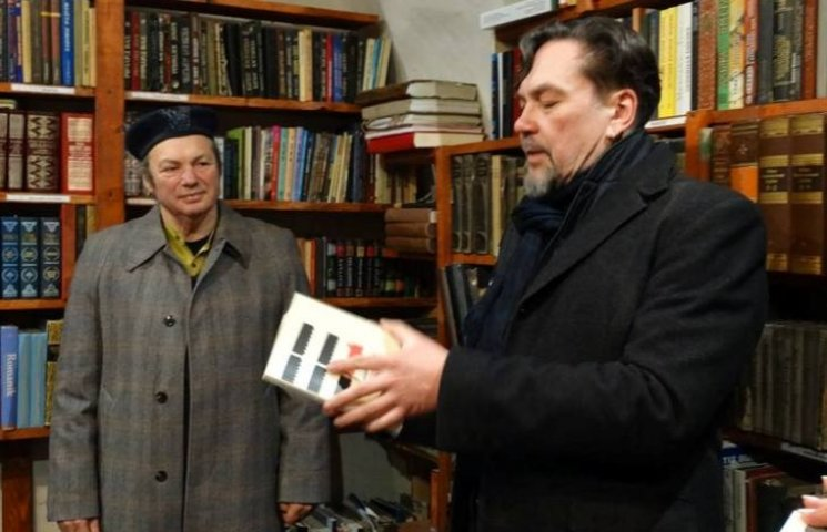 Андрухович відкрив у закарпатському замку бібліотеку угорської письменниці