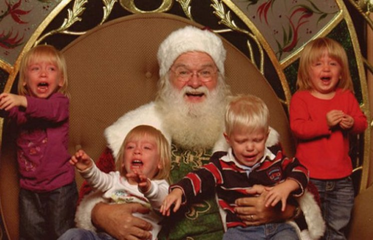 Мороз і діти: Як малюки реагують на страшного бородатого діда