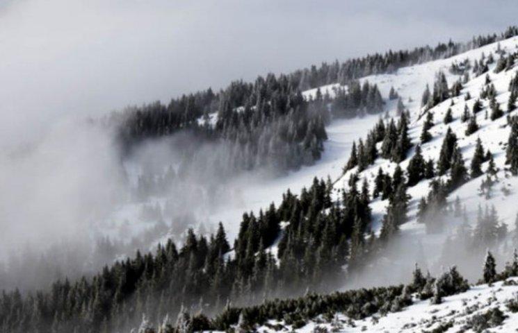 У Карпатах підвищена ступінь сходження лавин