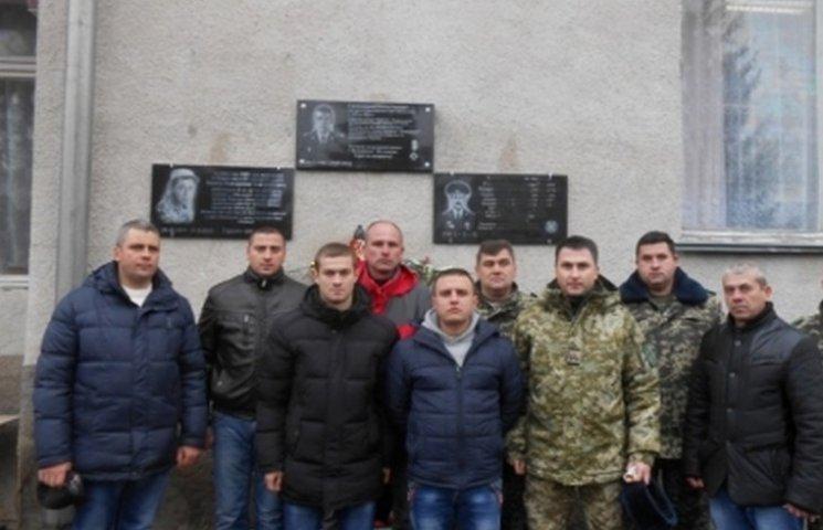 На Вінниччині трьом загиблим атовцям встановили меморіальні дошки