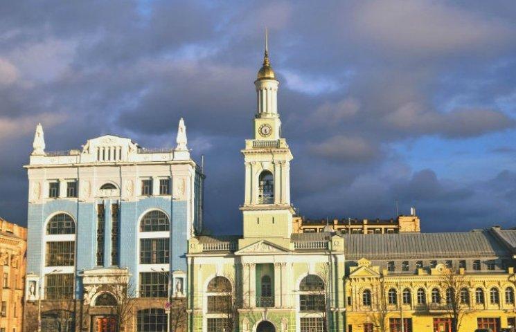Контрактова площа у Києві повністю перекрита