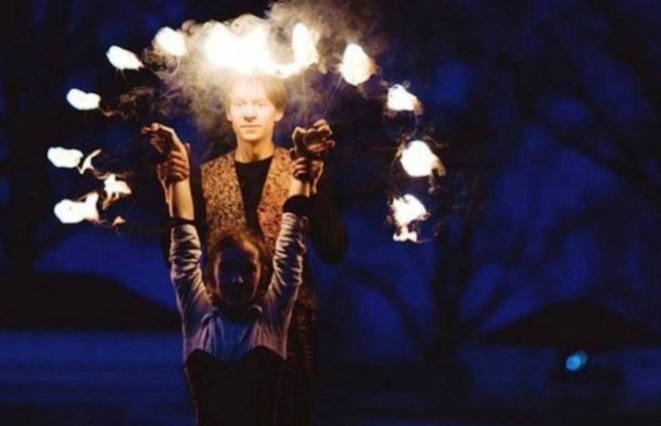 На Закарпатті влаштовують видовищні ігри з вогнем