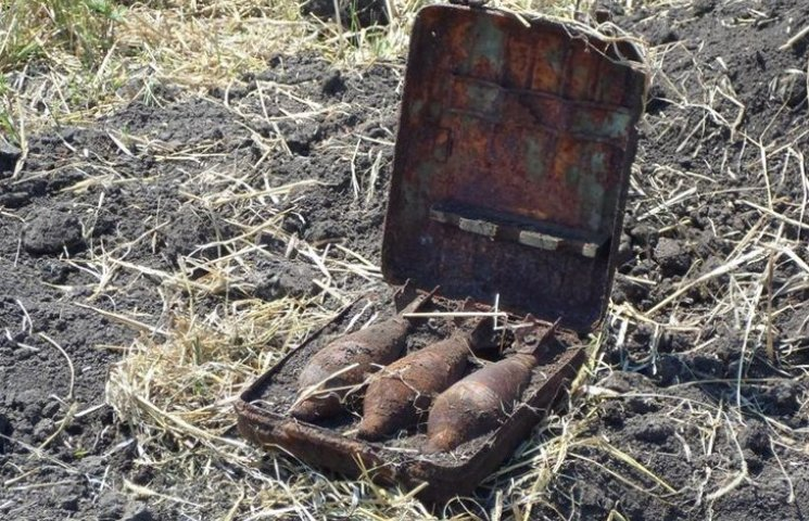 """Піротехники знищили боєприпаси, які знайшли """"туристи"""" у лісі"""