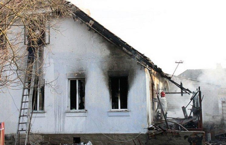На Вінниччині з пожежі врятували мати з немовлям