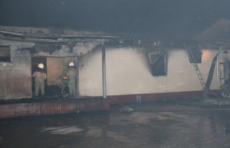 На Вінниччині під час пожежі в пекарні потраждали шестеро працівників