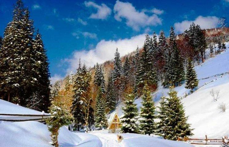 Закарпаття: прогноз погоди на 28 грудня - думаєм про березень