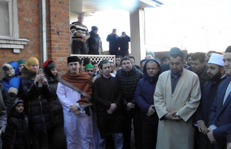 В Сумах відкрилася новозбудована мечеть