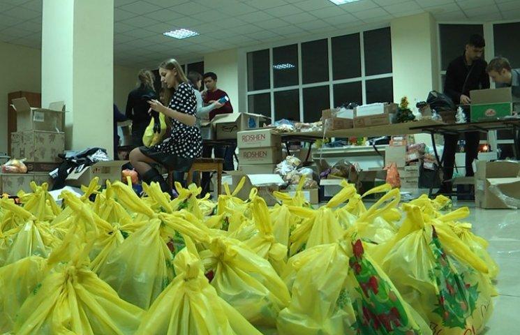 Сумські волонтери їдуть на Донбас з новорічними подарунками для бійців АТО