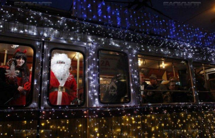 Як працюватиме громадський транспорт у Києві під час новорічно-різдвяних свят