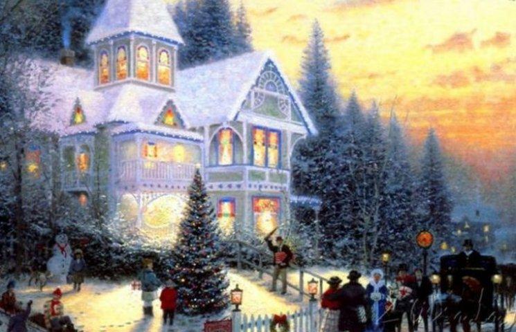 Удивительные рождественские картины, которые создадут праздничное настроение