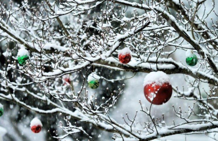 У новорічну ніч у Києві прогнозують до 12 градусів морозу та сніг