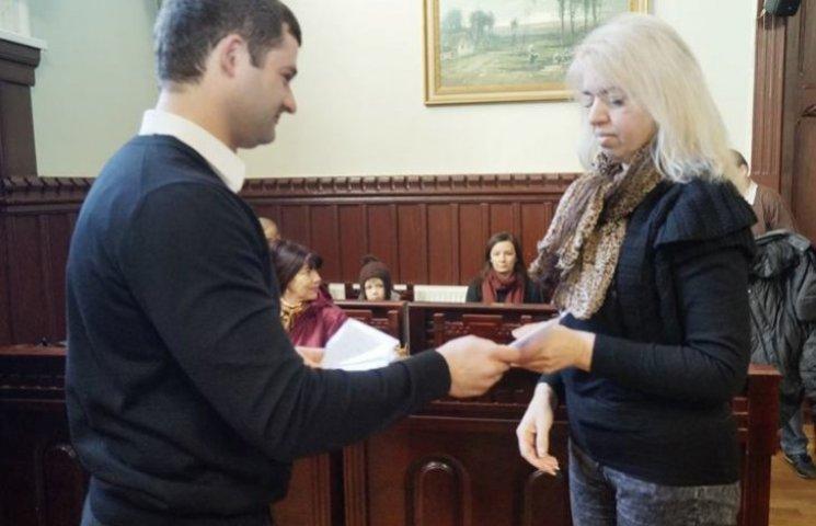 У Мукачеві сім'ї воїнів АТО отримали квартири