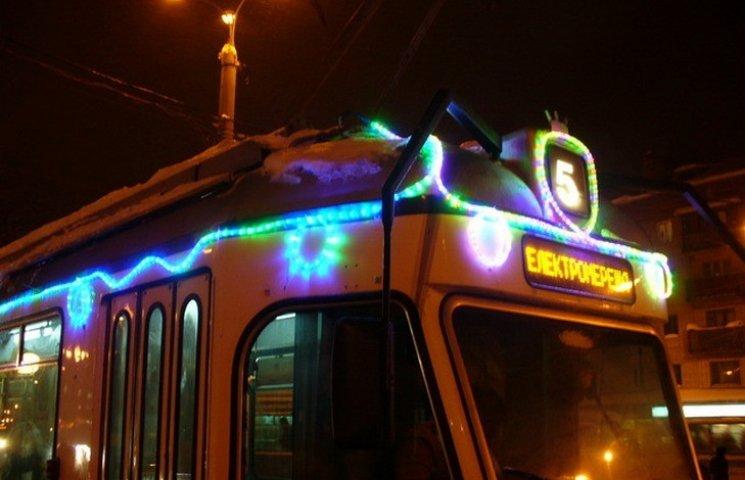 На Новий рік вінничани безкоштовно їздитимуть в громадському транспорті