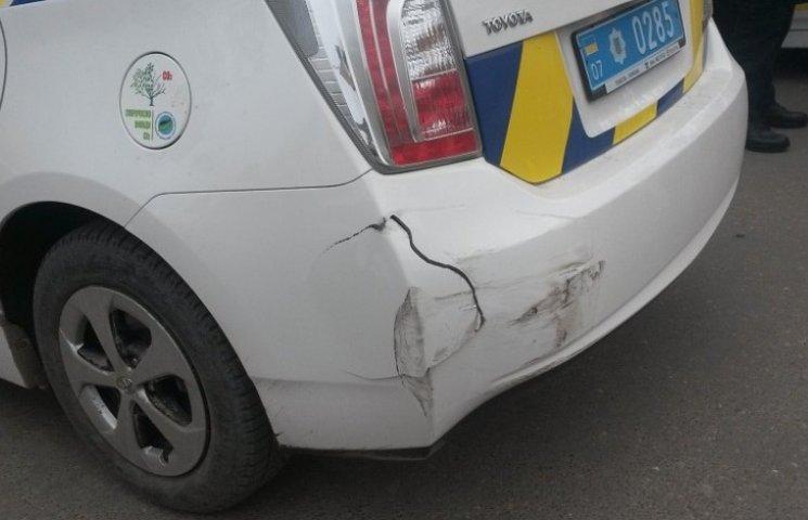 Закарпатські поліцейські скоїли вже три ДТП