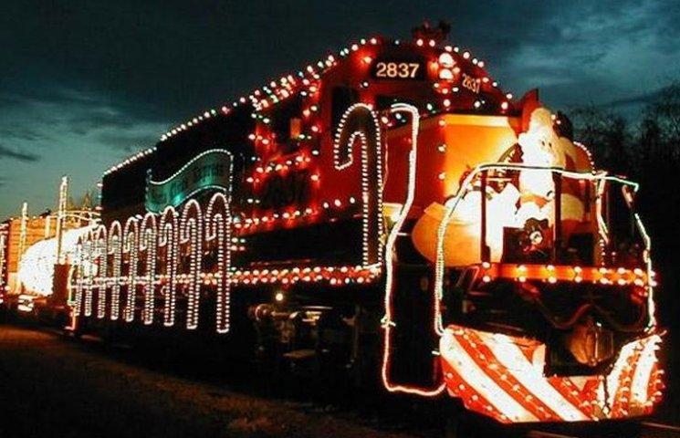 Вінничани, які зустрінуть Новий рік в поїзді, отримають подарунки