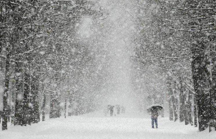 На Вінниччині рясно сніжитиме щонайменше два дні