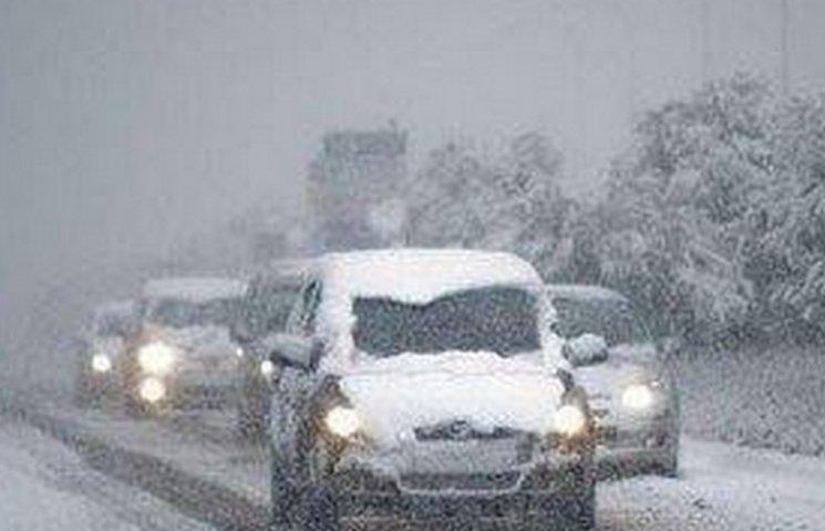 Дніпропетровських водіїв просять не виїжджати на дороги