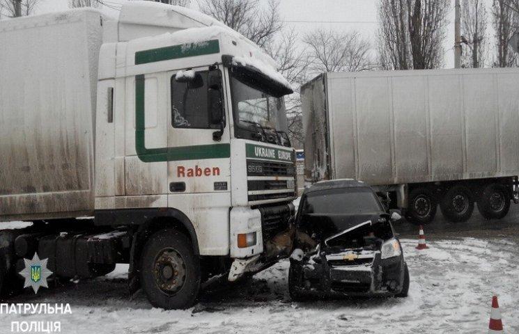 День ДТП в Днипре: из-за непогоды в городе огромное количество аварий